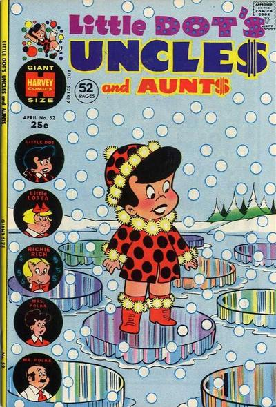 Cover for Little Dot's Uncles and Aunts (Harvey, 1961 series) #52