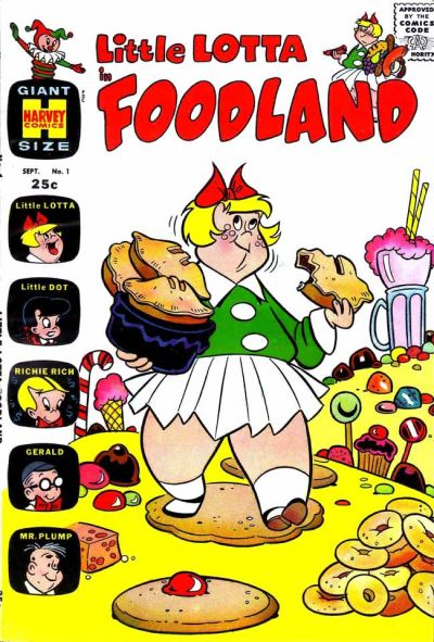 Cover for Little Lotta Foodland (Harvey, 1963 series) #1