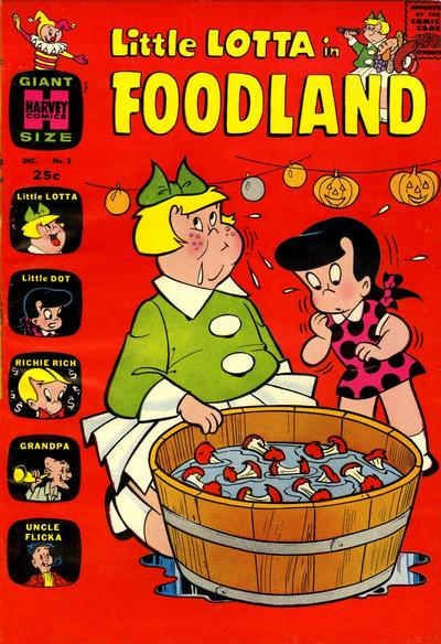 Cover for Little Lotta Foodland (Harvey, 1963 series) #2