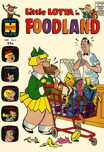 Cover for Little Lotta Foodland (Harvey, 1963 series) #4