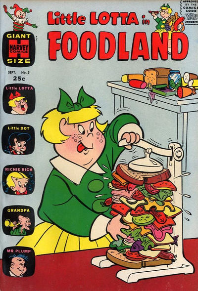 Cover for Little Lotta Foodland (Harvey, 1963 series) #5