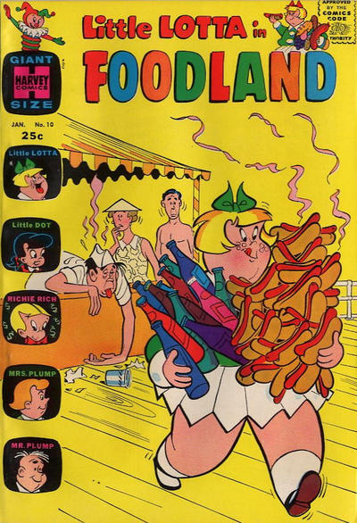Cover for Little Lotta Foodland (Harvey, 1963 series) #10
