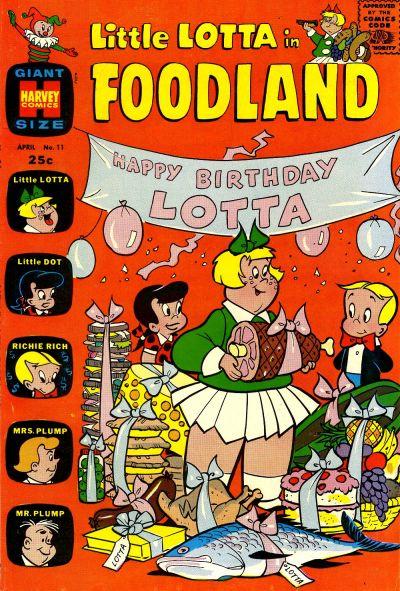 Cover for Little Lotta Foodland (Harvey, 1963 series) #11