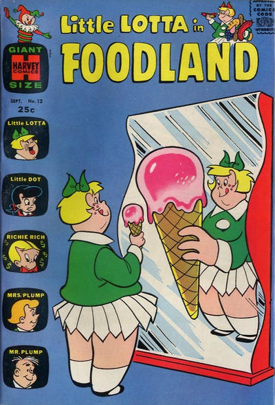 Cover for Little Lotta Foodland (Harvey, 1963 series) #12