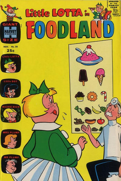 Cover for Little Lotta Foodland (Harvey, 1963 series) #20