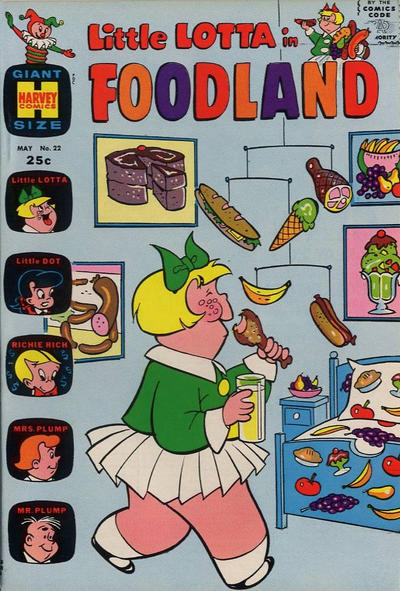 Cover for Little Lotta Foodland (Harvey, 1963 series) #22