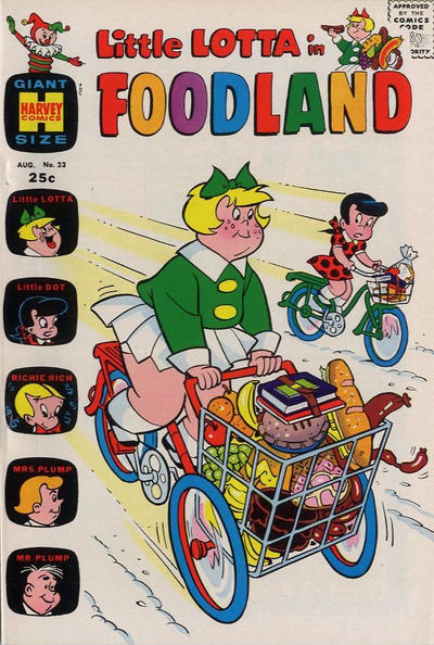 Cover for Little Lotta Foodland (Harvey, 1963 series) #23