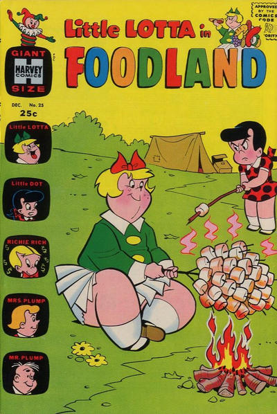 Cover for Little Lotta Foodland (Harvey, 1963 series) #25