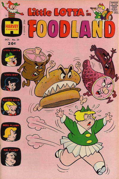 Cover for Little Lotta Foodland (Harvey, 1963 series) #29