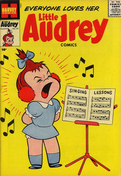 Cover for Little Audrey (Harvey, 1952 series) #49