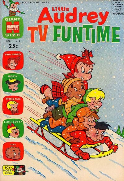Cover for Little Audrey TV Funtime (Harvey, 1962 series) #3