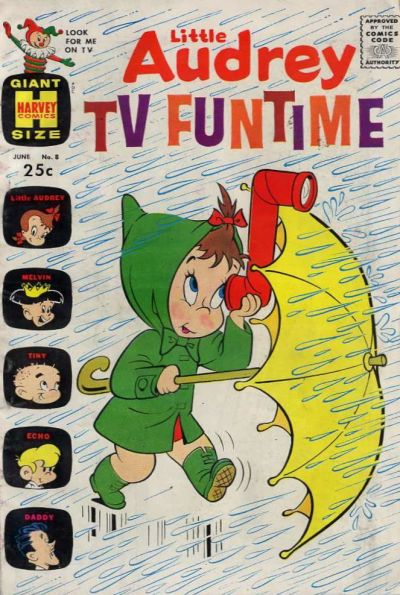 Cover for Little Audrey TV Funtime (Harvey, 1962 series) #8