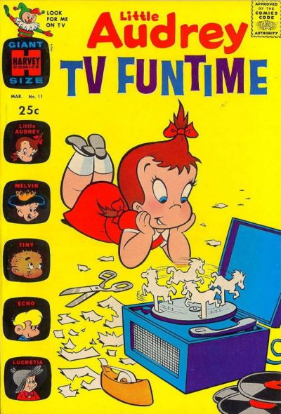 Cover for Little Audrey TV Funtime (Harvey, 1962 series) #11