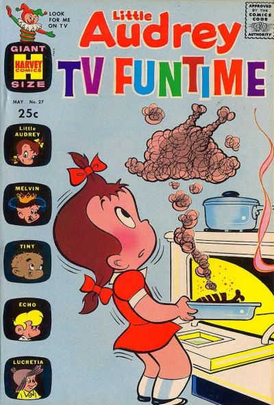 Cover for Little Audrey TV Funtime (Harvey, 1962 series) #27