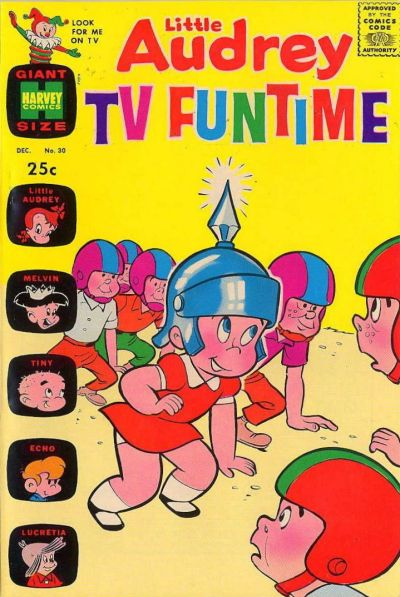 Cover for Little Audrey TV Funtime (Harvey, 1962 series) #30
