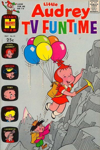 Cover for Little Audrey TV Funtime (Harvey, 1962 series) #31