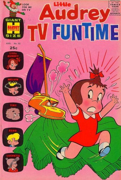 Cover for Little Audrey TV Funtime (Harvey, 1962 series) #32