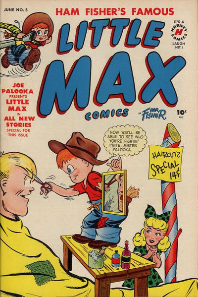 Cover for Little Max Comics (Harvey, 1949 series) #5
