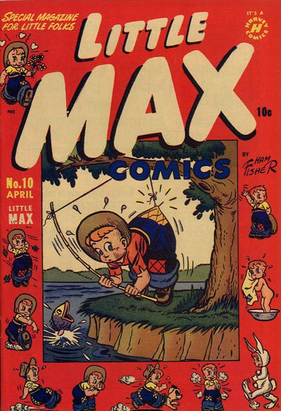 Cover for Little Max Comics (Harvey, 1949 series) #10