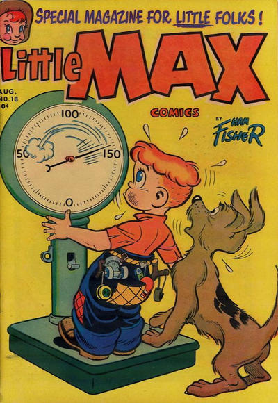 Cover for Little Max Comics (Harvey, 1949 series) #18