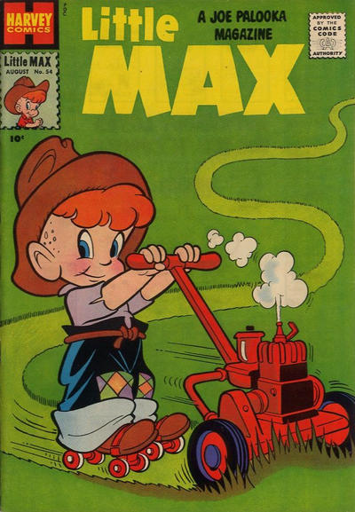 Cover for Little Max Comics (Harvey, 1949 series) #54
