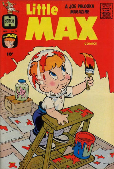 Cover for Little Max Comics (Harvey, 1949 series) #72