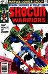 Cover for Shogun Warriors (Marvel, 1979 series) #10