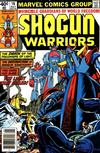 Cover for Shogun Warriors (Marvel, 1979 series) #16