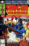 Cover for Shogun Warriors (Marvel, 1979 series) #17 [direct edition]