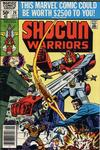 Cover for Shogun Warriors (Marvel, 1979 series) #20