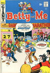 Cover for Betty and Me (Archie, 1965 series) #41