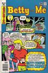 Cover for Betty and Me (Archie, 1965 series) #80
