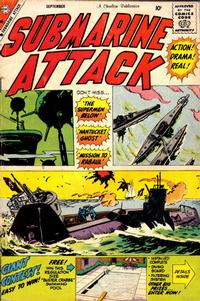 Cover Thumbnail for Submarine Attack (Charlton, 1958 series) #18