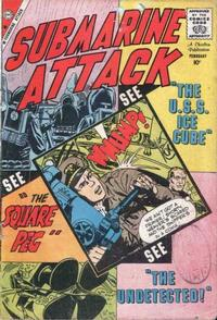Cover Thumbnail for Submarine Attack (Charlton, 1958 series) #20