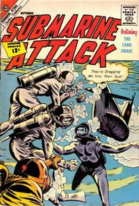 Cover Thumbnail for Submarine Attack (Charlton, 1958 series) #35