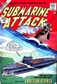 Cover Thumbnail for Submarine Attack (Charlton, 1958 series) #36