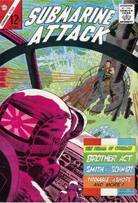 Cover for Submarine Attack (Charlton, 1958 series) #52