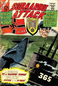 Cover Thumbnail for Submarine Attack (Charlton, 1958 series) #54