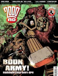 Cover Thumbnail for 2000 AD (Rebellion, 2001 series) #1401