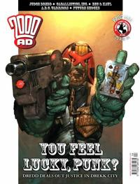 Cover Thumbnail for 2000 AD (Rebellion, 2001 series) #1404