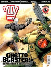 Cover Thumbnail for 2000 AD (Rebellion, 2001 series) #1408