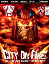 Cover Thumbnail for 2000 AD (Rebellion, 2001 series) #1410