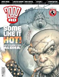 Cover Thumbnail for 2000 AD (Rebellion, 2001 series) #1411