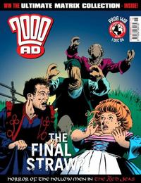 Cover Thumbnail for 2000 AD (Rebellion, 2001 series) #1418