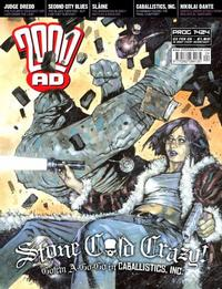 Cover Thumbnail for 2000 AD (Rebellion, 2001 series) #1424