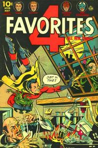 Cover Thumbnail for Four Favorites (Ace Magazines, 1941 series) #18