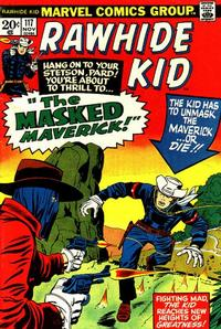 Cover for The Rawhide Kid (Marvel, 1960 series) #117
