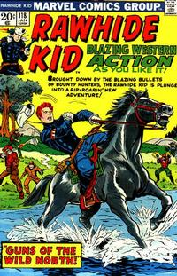 Cover Thumbnail for The Rawhide Kid (Marvel, 1960 series) #118