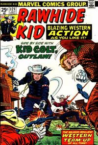 Cover Thumbnail for The Rawhide Kid (Marvel, 1960 series) #121