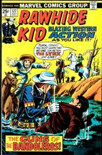 Cover Thumbnail for The Rawhide Kid (Marvel, 1960 series) #127